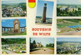 LUSSEMBURGO - LUXEMBOURG - Souvenir De Wiltz - Multivues - Not Used - Wiltz