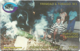 Trinidad & Tobago - Bursting Bamboo - 98CTTA - 1996, 60.000ex, Used