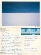 Uyuni Salt Flat, Bolivia Postcard Posted 2000s ARGENTINA Stamp - Bolivia