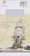 = Enveloppe Entier Monde 250g  Catalogue Phil@poste De Saint Malo à L'Île Du Dodo Septembre-Novembre 2015 - Postal Stamped Stationery