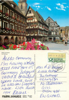 Rathaus, Forchheim, Germany Postcard Posted 1992 ATM Meter - Forchheim