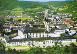 LUSSEMBURGO - LUXEMBOURG - 1976 - 5F + Flamme Echternach Pour Les Vacances - Echternach - Abbaye - Viaggiata Da Echte... - Echternach