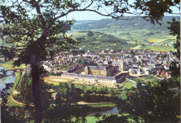 LUSSEMBURGO - LUXEMBOURG - 19?? - Missed Stamp + Flamme Pour Vos Vacances - Echternach - Panorama Pittoresque De La V... - Echternach