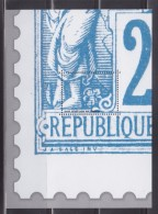 Bloc Gommé Neuf Type Sage  De Phil@poste Sans Valeur Faciale Soit 1/4 Du Timbre Représenté - Blocs & Feuillets