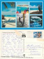 Multiview, Aruba, Aruba Postcard Posted 1999 Stamp - Geschichte, Philosophie, Geographie
