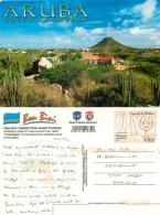 Bon Bini, Aruba, Aruba Postcard Posted 2003 PANAMA Stamp - History, Philosophy & Geography