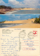 Natal, Brazil Postcard Posted 1989 Stamp - Natal