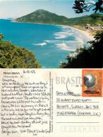 Praia Brava, Florianopolis, Brazil Postcard Posted 2003 Stamp - Florianópolis