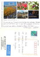 Gunma Flower Park, Maebashishi, Japan Postcard Posted 2009 Stamp - Giappone