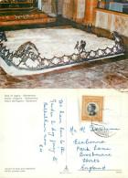 Gethsemane Rock Of Agony, Jerusalem, Jordan Postcard Posted 1964 Stamp