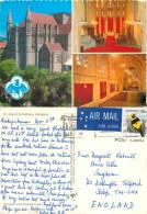 Cathedral, Brisbane, Queensland, Australia Postcard Posted 1980 Stamp - Brisbane