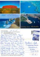 Multiview, Australia Postcard Posted 2015 Self-adhesive Stamp - Australie