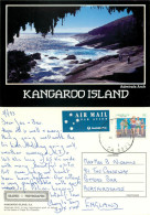 Admirals Arch, Kangaroo Island, South Australia, Australia Postcard Posted 1993 Stamp - Kangaroo Islands