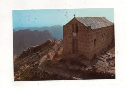 (jordanie) THE PEAK OF THE COMMANDTS AND THE CHAPEL 1983