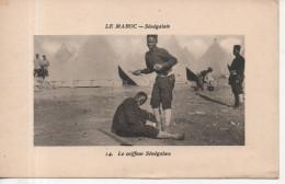 CPA - LE MAROC - SENEGALAIS - 14 - LE COIFFEUR SENEGALAIS - MAILLET - Altri