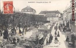MARCIGNY PERSPECTIVE DU COURS JOUR DE MARCHE FOIRE 71 - Unclassified
