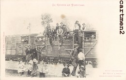 GUERRE AU TRANSVAAL 1650 KILOMETRES EN WAGON A BESTIAUX TRAIN GUERRE BOERS AFRIQUE DU SUD SOUTH AFRICA NEDERLAND ENGLAND - Afrique Du Sud