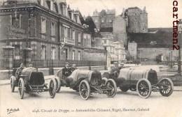 CIRCUIT DE DIEPPE AUTOMOBILE CLEMENT RIGAL HAUVAST GABRIEL COURSE AUTOMOBILES VOITURE CAR PILOTE - Dieppe