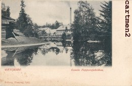GRYCKSBO GAMLA PAPPERSFABRIKEN SUEDE SWEDEN 1900 - Zweden