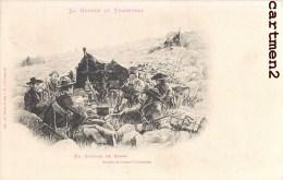 GUERRE AU TRANSVAAL UN BIVOUAC DE BOER GUERRE DES BOERS AFRIQUE DU SUD SOUTH AFRICA NEDERLAND ENGLAND 1900 - South Africa
