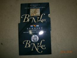 COFFRET OFFICIEL 2003 BENELUX, 24 PIECES ET 1 MEDAILLE. - EURO