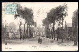 DIEPPE 76 - L'Avenue De L'Hopital - Dieppe