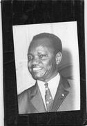 Photo De Presse  -  François  TOMBALBAYE  Président De La République Du TCHAD - Personnes Identifiées