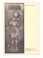 5910 KREUZTAL - FERNDORF, Kirche, Grabplatte Des Ritters Von Der Hess, 1939 - Kreuztal