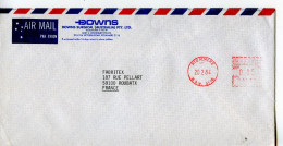 EMA Santé,DOWNS Surgical PLC,medecin,materiel Chirurgie,lot 2 Enveloppes,lettre Ryd Almer Australie,Croydon Anglterre - Medizin