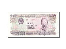 Viet Nam, 2000 D<ox>ng, 1988, Undated, KM:107a, SPL - Vietnam