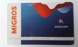 GIFT CARD - SWITZERLAND - MIGROS 078. - Gift Cards
