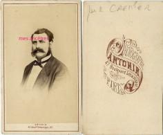 CDV Vers 1875-1880- Mr R. CREMIER-moustaches Et Rouflaquettes-photo Antonin à Paris - Antiche (ante 1900)
