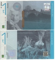 "ENGLAND. £1  "" TOTNES""  Official Local Currency    Mary Wesley  CBE  UNC - 1952-… : Elizabeth II"