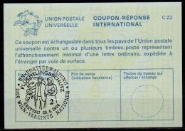 UNITED NATIONS VIENNA UNO WIEN FLÜCHTLINGSSCHUTZ 29.04.94 Int. Reply Coupon Reponse IRC IAS Antwortschein La25 - Refugees