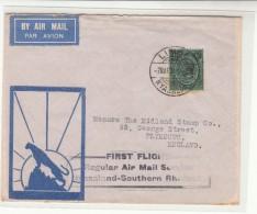 Nyassaland / Airmail / First Flights - Sin Clasificación