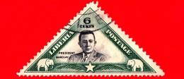 LIBERIA - Usato - 1937 - Presidente Edwin J. Barclay - 6 - Liberia