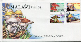 1985-MALAWI -FUNGI-CHAMPIGNONS ON F.D.C.. LUXE !! - Malawi (1964-...)