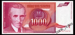 YUGOSLAVIA 1000 DINARA 1992 Pick 114 Unc - Yugoslavia