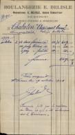 FACTURE - SAINT-PIERRE ET MIQUELON - BOULANGERIE - Années 30 - France