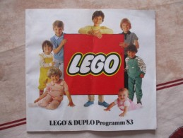 CATALOGUE LEGO 1983 ( 35 Pages) - Catalogs