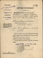 FACTURE - SAINT-PIERRE ET MIQUELON - Quittance Liquidation En Douane - Chalutier ASPIRANT BRUN - France