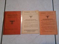 POSTSPARBUCH DEUTSCHE REICHSPOST METZ 26.5.1942 - 1939-45