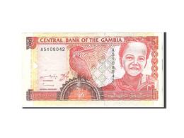 The Gambia, 5 Dalasis, 1991, Undated, KM:12b, TTB - Gambie