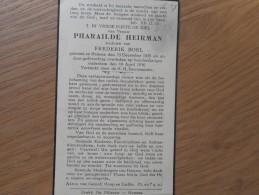 D.P.-100 JARIGE PHARAILDE HEIRMAN °HAMME 15-12-1835+ALDAAR 10-4-1936 - Religion & Esotérisme