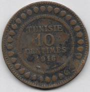 10 Centimes 1916 - Tunisie