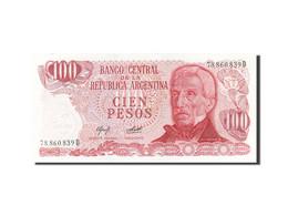 Argentine, 100 Pesos, 1976-1983, KM:302b, Undated (1976-1978), SPL - Argentine