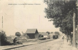 INGRE - La Gare Du Tramway, à Villeneuve. - Non Classificati
