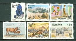 Namibia  1991 - 1993  6 Stamps MNH - Namibie (1990- ...)