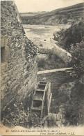 -ref M528- Cotes D Armor - Saint Michel En Greve - St Michel En Greve -vieux Moulin Abandonne- Roue - Moulins A Eau  - - Saint-Michel-en-Grève