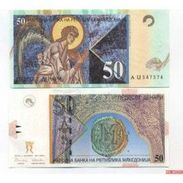 Billets  Macédoine 50 Denar - Macedonia